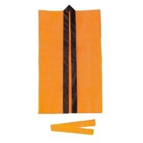 アーテック ロングハッピ不織布オレンジS(ハチマキ付) ハッピ 品番 1525
