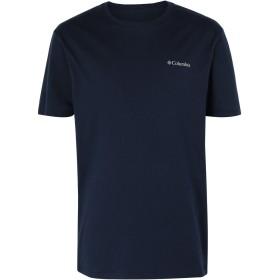 《期間限定セール開催中!》COLUMBIA メンズ T シャツ ダークブルー S コットン 100% North Cascades Short Sleeve top