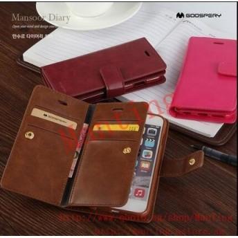 Mercury wallet leather case IPhone 7/7 plus、 IPhone 5/5S/SE