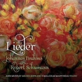 シューマン、ロベルト(1810-1856)/Lieder: A.murrey(Ms) Martineau(P) +brahms (Hyb)