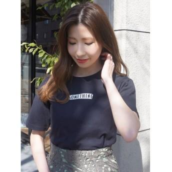 【40%OFF】 マーキュリーデュオ ボックスロゴTシャツ レディース ブラック F 【MERCURYDUO】 【セール開催中】