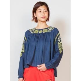 [マルイ]【セール】【チャイハネ】yul オリエンタル刺繍ブラウス2WAY/チャイハネ(CAYHANE)