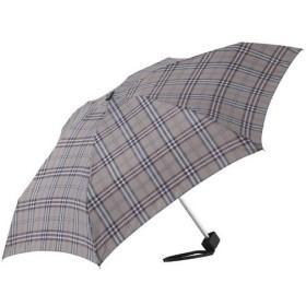 内祝い 内祝 お返し 傘 メンズ レディース おしゃれ ブランド 男女兼用 チェック4段ミニ傘 グレー
