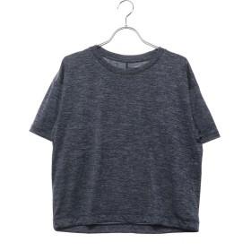 ダンスキン DANSKIN レディース フィットネス 半袖Tシャツ COLOR HEATHERワイドT DB79118
