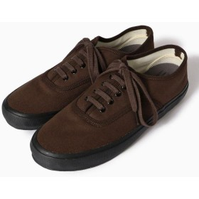 【30%OFF】 シップス REPRODUCTION OF FOUND×SHIPS: 別注 US NAVY SHOES メンズ ブラウン 43 【SHIPS】 【セール開催中】
