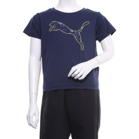 プーマ PUMA ジュニア 半袖機能Tシャツ ACTIVE SS ポリ グラフィック Tシャツ 843965