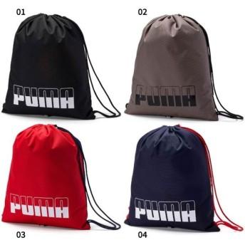14.5L プーマ メンズ レディース プラス ジムサック 2 バッグ 鞄 ナップザック シューズバッグ 靴入れ 巾着 ランドリーバッグ スポーツ ジム 076059