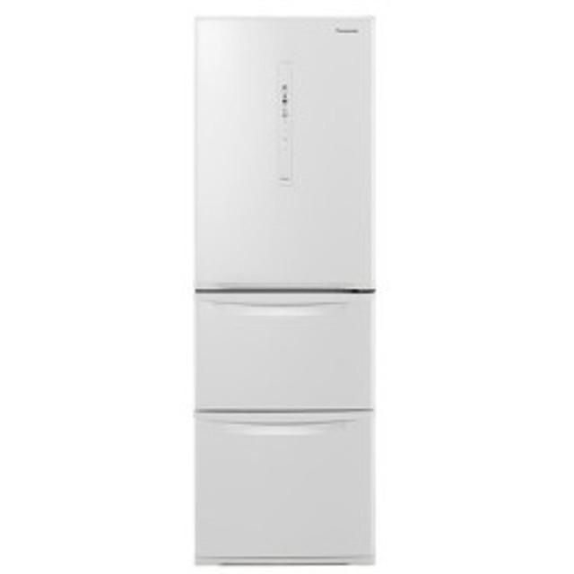 PANASONIC NR-C370C-W ピュアホワイト [冷蔵庫(365L・右開き)]