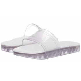 + Melissa Luxury Shoes プラスメリッサ レディース 女性用 シューズ 靴 サンダル x Rider Slide Flat Sandal Clear White【送料無料】