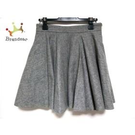 ミューズデドゥーズィエムクラス スカート サイズ36 S レディース 美品 ライトグレー   スペシャル特価 20190603