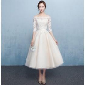 オフショルダードレス 花嫁さまの二次会ドレスとしてもおすすめ