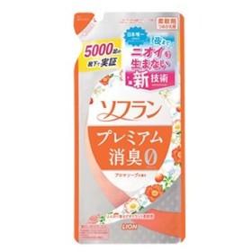 ライオン ソフラン プレミアム消臭 アロマソープの香り つめかえ用 (450mL) 詰め替え用 柔軟剤