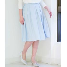 [マルイ]【セール】フレアミディ丈カラースカート/オフオン(OFUON)