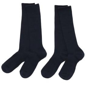 トップバリュベストプライス スクールハイソックス2足組 コイアオ 男女兼用 靴下 BT162AA0599
