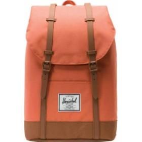 ハーシェルサプライ メンズ バックパック・リュックサック バッグ Retreat Backpack Apricot Brandy/Saddle Brown
