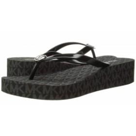 d91333800ce9 MICHAEL Michael Kors マイケルコース レディース 女性用 シューズ 靴 サンダル Bedford Flip Flop Black  PVC
