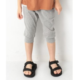 [マルイ]【セール】子供服 ハーフパンツ キッズ 韓国子供服 7分丈裾リブパンツ 男の子 女の子 ズボン/デビロック(devirock)