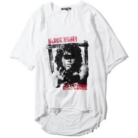 ブラックハニーチリクッキー B.H.C.C Jim Morrison T メンズ ホワイト 4 【BLACK HONEY CHILI COOKIE】