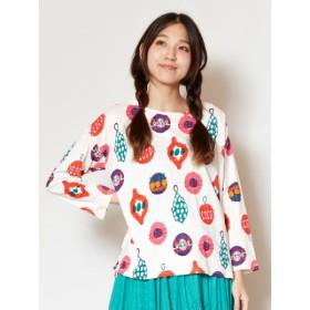 Tシャツ - チャイハネ 【チャイハネ】yul レトロモダンカットソートップス