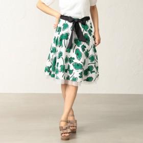 [マルイ]【セール】*25ans掲載*フラワーボンボンプリントスカート/トゥービーシック(TO BE CHIC)