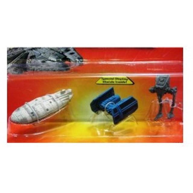 STARWARS スターウオーズ Micro Machines #5 レベルトランスポート タイボンバー インペリアルAT-ST