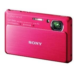 ソニー SONY デジタルカメラ Cybershot TX9 (1220万画素CMOS/光学x4/デジタルx8) レッド DSC-TX9/R 中古 良品