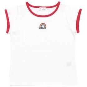 【50%OFF】 ジェニィ レインボーワッペンTシャツ レディース レッド 150cm 【JENNI】 【セール開催中】