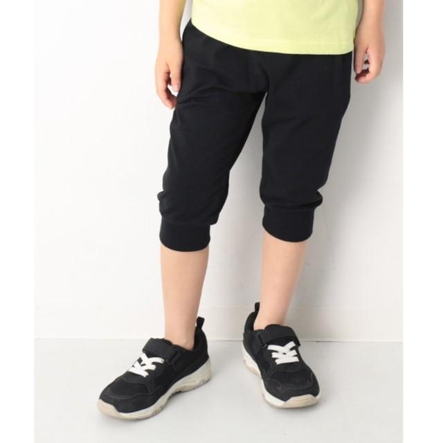 [マルイ] 子供服 ハーフパンツ キッズ 韓国子供服 7分丈裾リブパンツ 男の子 女の子 ズボン/デビロック(devirock)