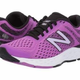 74977bd3a28c5 New Balance ニューバランス レディース 女性用 シューズ 靴 スニーカー 運動靴 680v6 Voltage Violet Black