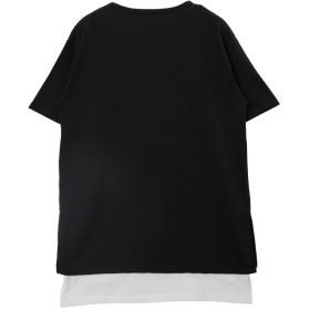 Tシャツ - JIGGYS SHOP ◆roshell(ロシェル)無地Tシャツ×タンクアンサンブル◆