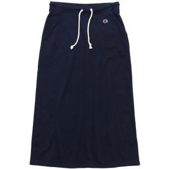 ウィメンズ ロングスウェットスカート 19SS チャンピオン(CW-K220)【5400円以上購入で送料無料】