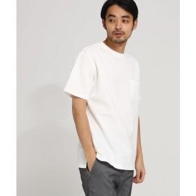 BASE STATION / ベースステーション 【WEB限定】  カノコ編立衿 BIG-Tシャツ