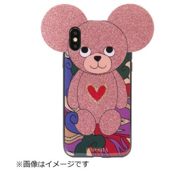 iPhone X/XS TPUケース Teddy Abstract Pattern