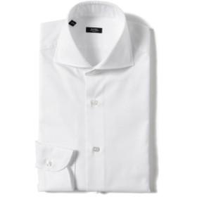 BARBA NEW BRUNO ピンオックス ワイドカラーシャツ メンズ