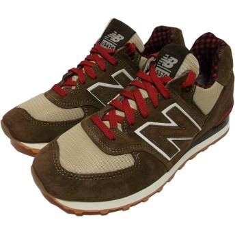 ニューバランス アメリカ製 574 ブラウン New Balance Made in USA NB5-001