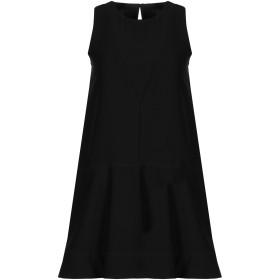 《セール開催中》DONDUP レディース ミニワンピース&ドレス ブラック 40 ポリエステル 100% / コットン