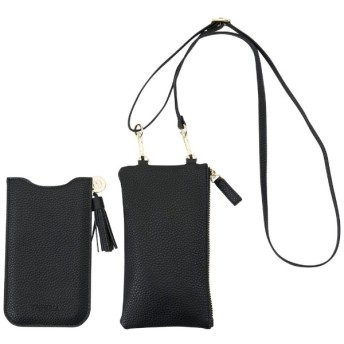 iPhone XS Max PUケース Necklace Sleeve Black With Bag