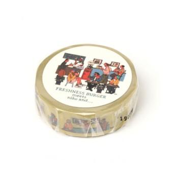 (niko and./ニコアンド)【FRESHNESS BURGER(フレッシュネスバーガー)】マスキングテープ2/ [.st](ドットエスティ)公式