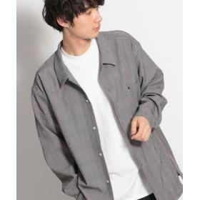 (niko and./ニコアンド)クレープクロスチェックシャツ/ [.st](ドットエスティ)公式