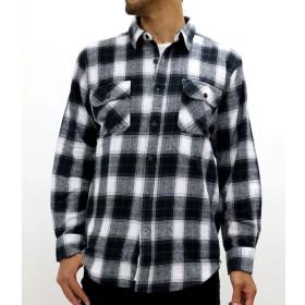 シャツ - MARUKAWA 大きいサイズ メンズ ビエラ 起毛 チェック 長袖 シャツ【キングサイズ 2L 3L 4L 5L シンプル カジュアル】