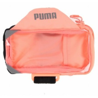 プーマ PR モバイル アームバンド (053512 03) 陸上/ランニング アームポーチ : ピンク PUMA