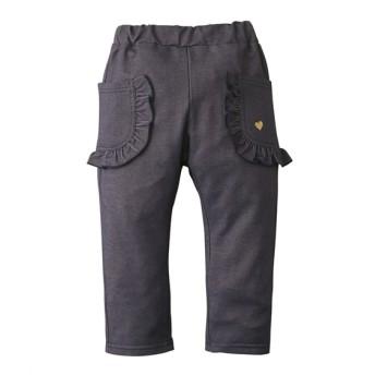 フリルポケット7分丈パンツ(女の子 子供服) パンツ