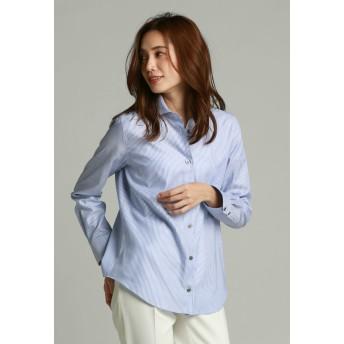 la.f. ALBINI OXFORDシャツ シャツ・ブラウス,ブルー系その他
