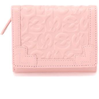 mila schon 【mila schon /ミラ・ショーン】ミラ・ショーン Sobrio 三つ折り財布 財布,ピンク