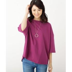 SHOO・LA・RUE(シューラルー) カリフォルニアコットンゆるTシャツ