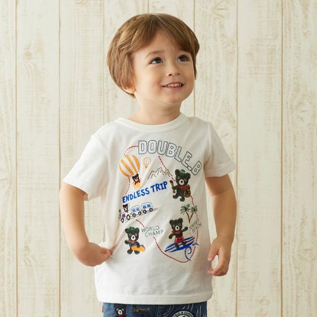 ミキハウス Tシャツ 白