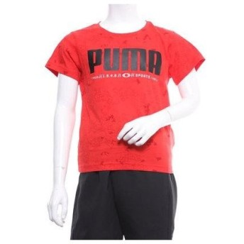 プーマ PUMA ジュニア 半袖Tシャツ ACTIVE SS AOP Tシャツ 843970