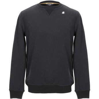 《9/20まで! 限定セール開催中》K-WAY メンズ スウェットシャツ ブラック S コットン 80% / ポリエステル 20%
