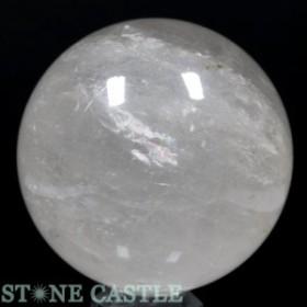 ☆置石一点物☆【天然石 置き石】丸玉 水晶 約105mm No.16