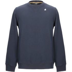 《期間限定 セール開催中》K-WAY メンズ スウェットシャツ ダークブルー S コットン 80% / ポリエステル 20%